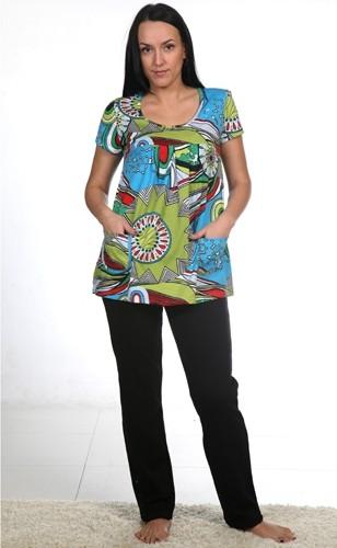 М126Р Блуза женская, кулирка 42-44