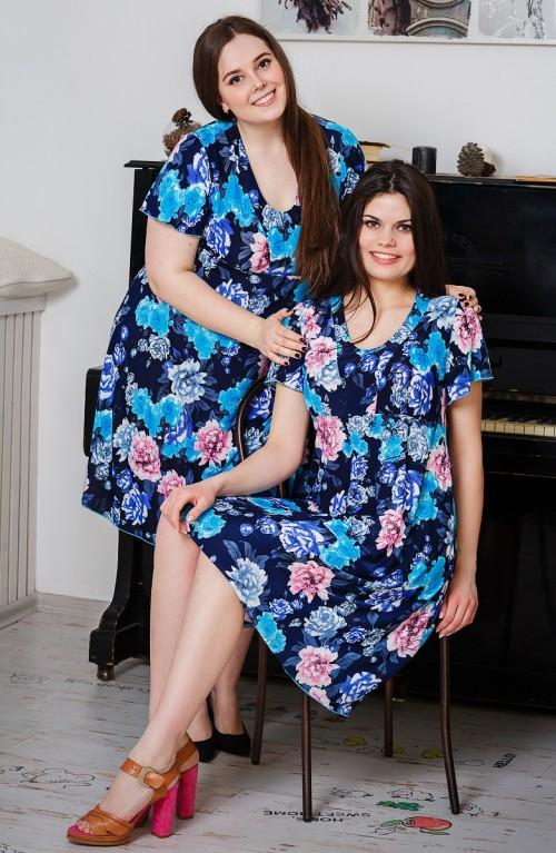М479 Платье женское с подрезом, масло 48-66